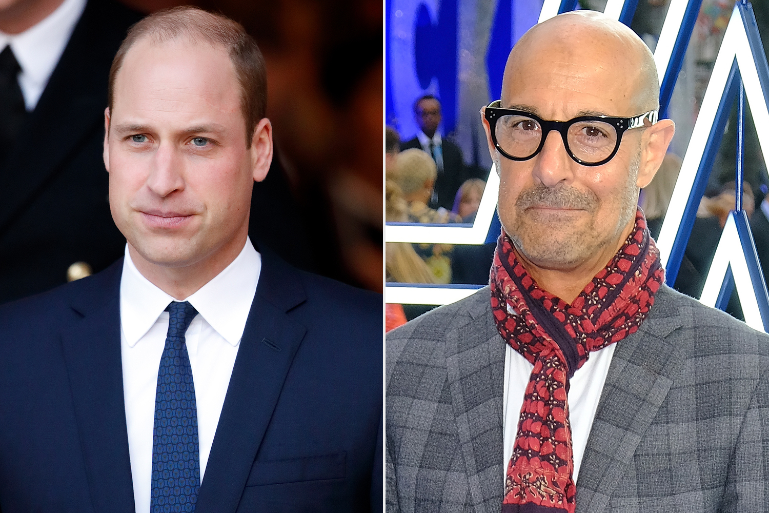 Prince William, Stanley Tucci