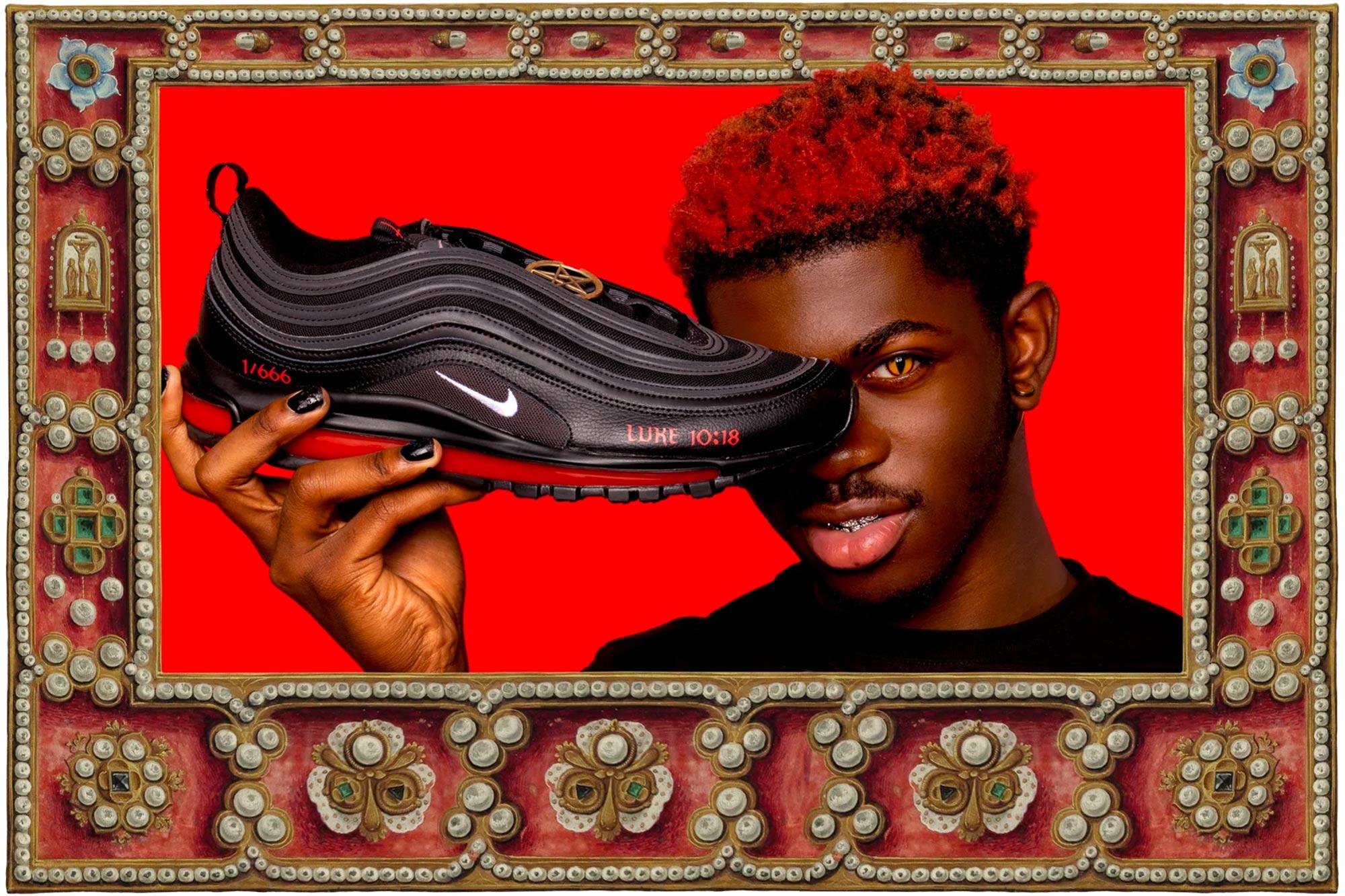 Lil Nas X Nike Shoes