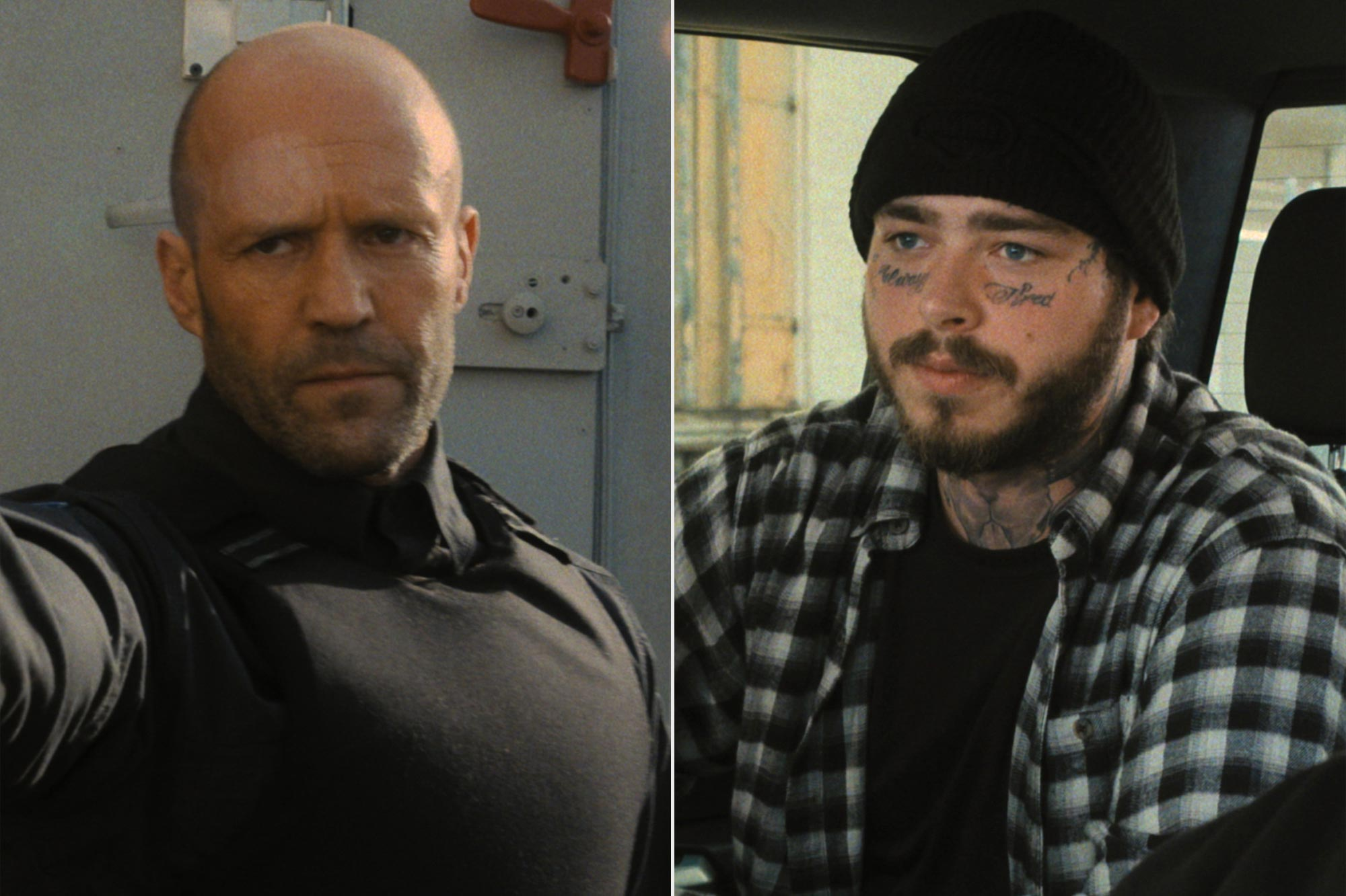 Jason Statham, Post Malone in 'Wrath of Man'
