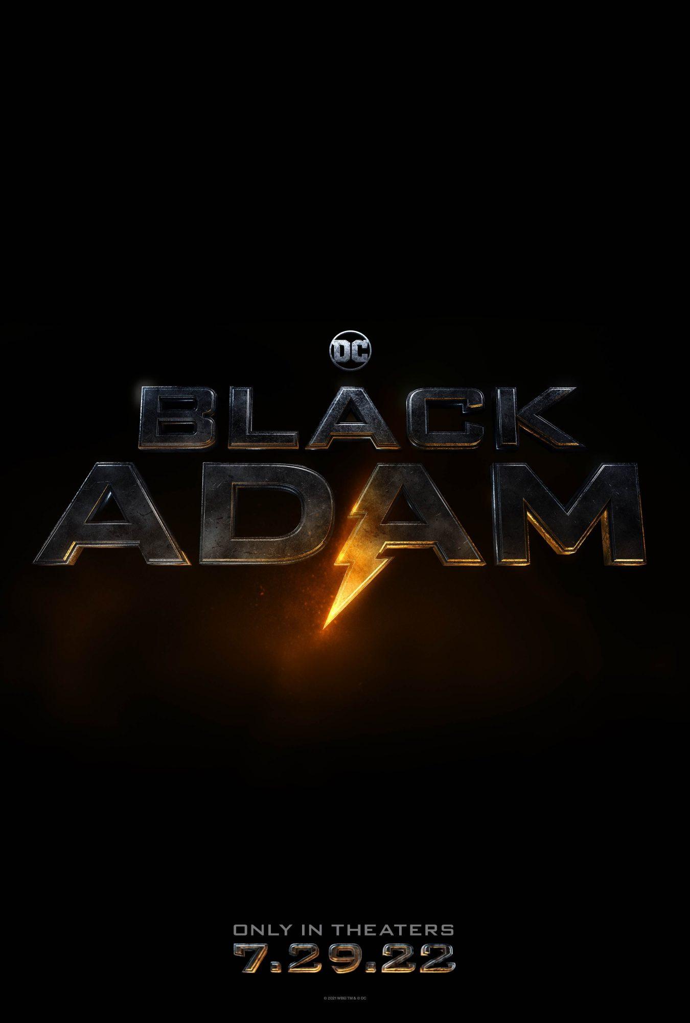 black adam DC dwayne johnson