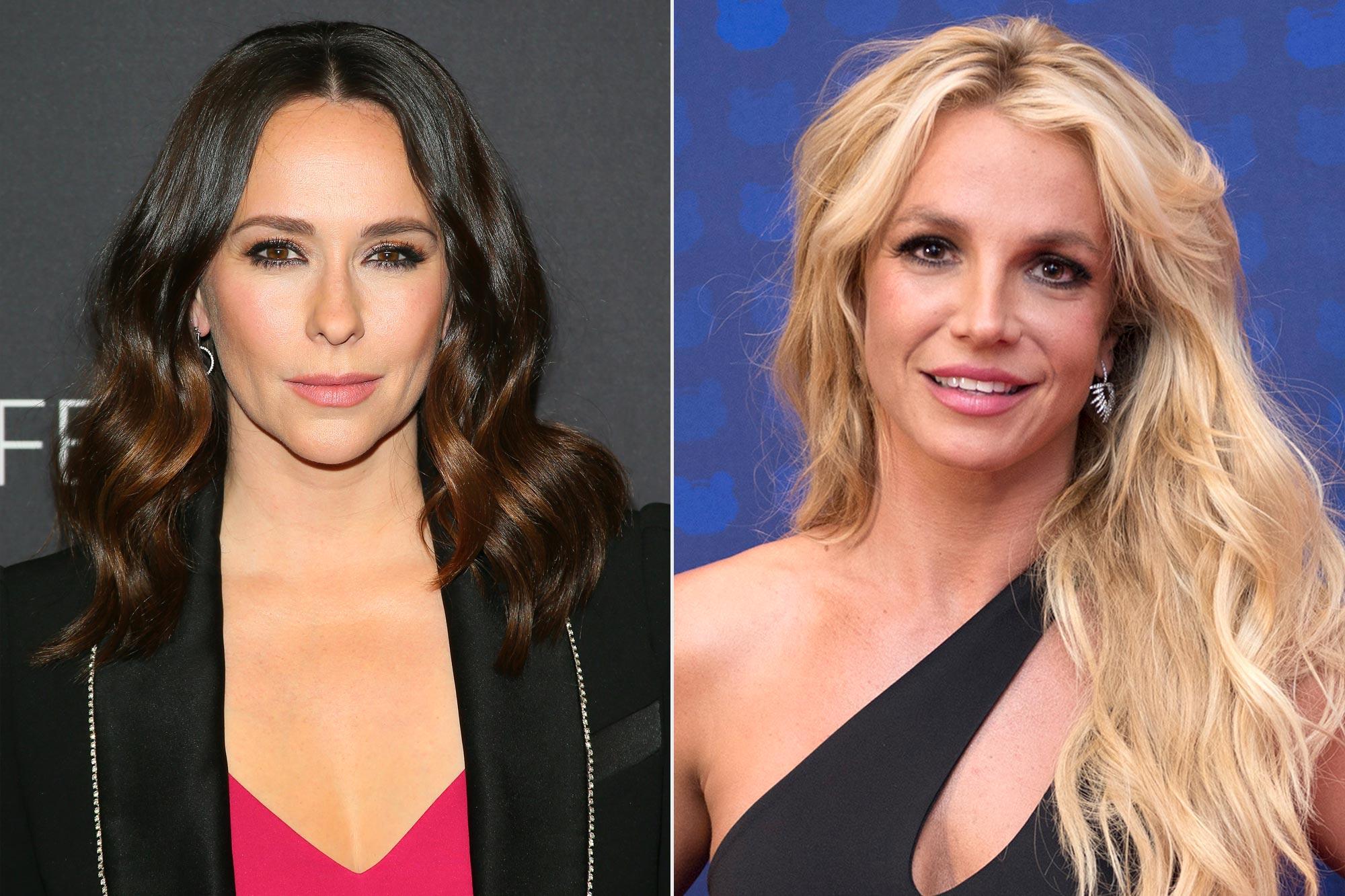 Jennifer Love Hewitt; Britney Spears