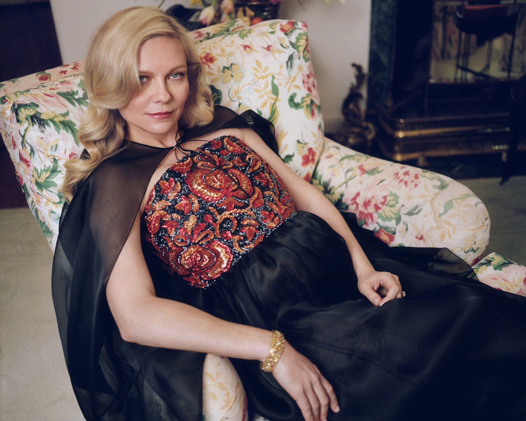 W Mag Shoot of Kirsten Dunst