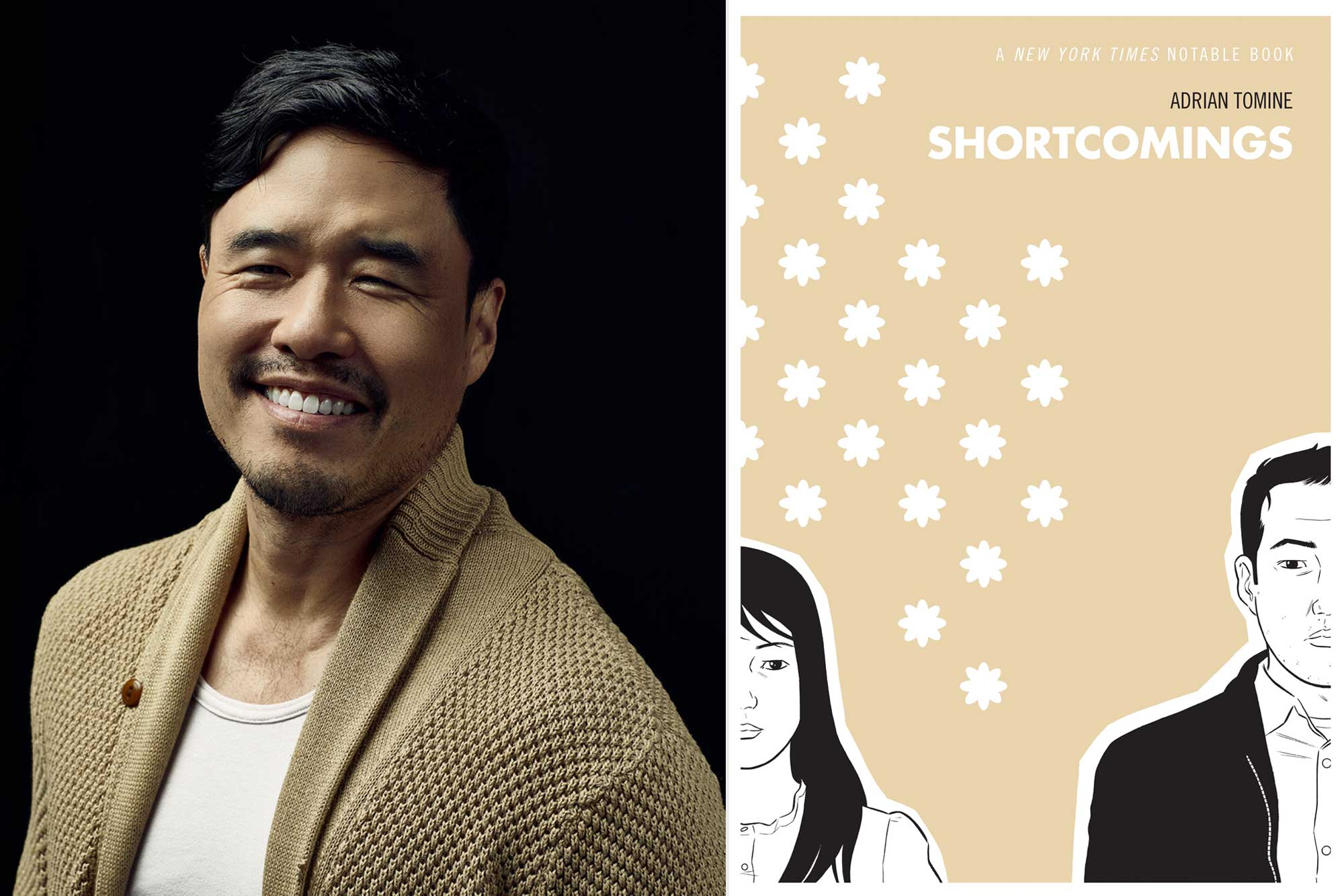 Randall Park; Shortcomings by Adrian Tomine