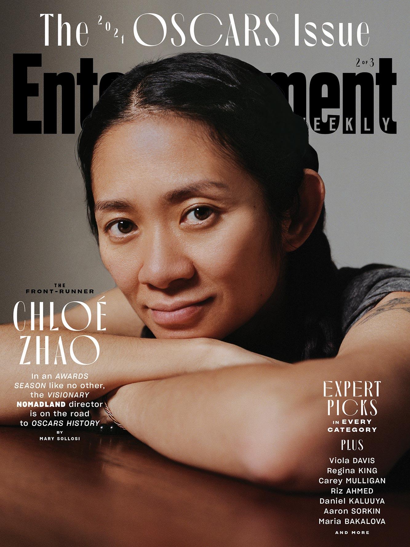 May 2021 Oscar Cover - Chloe Zhao