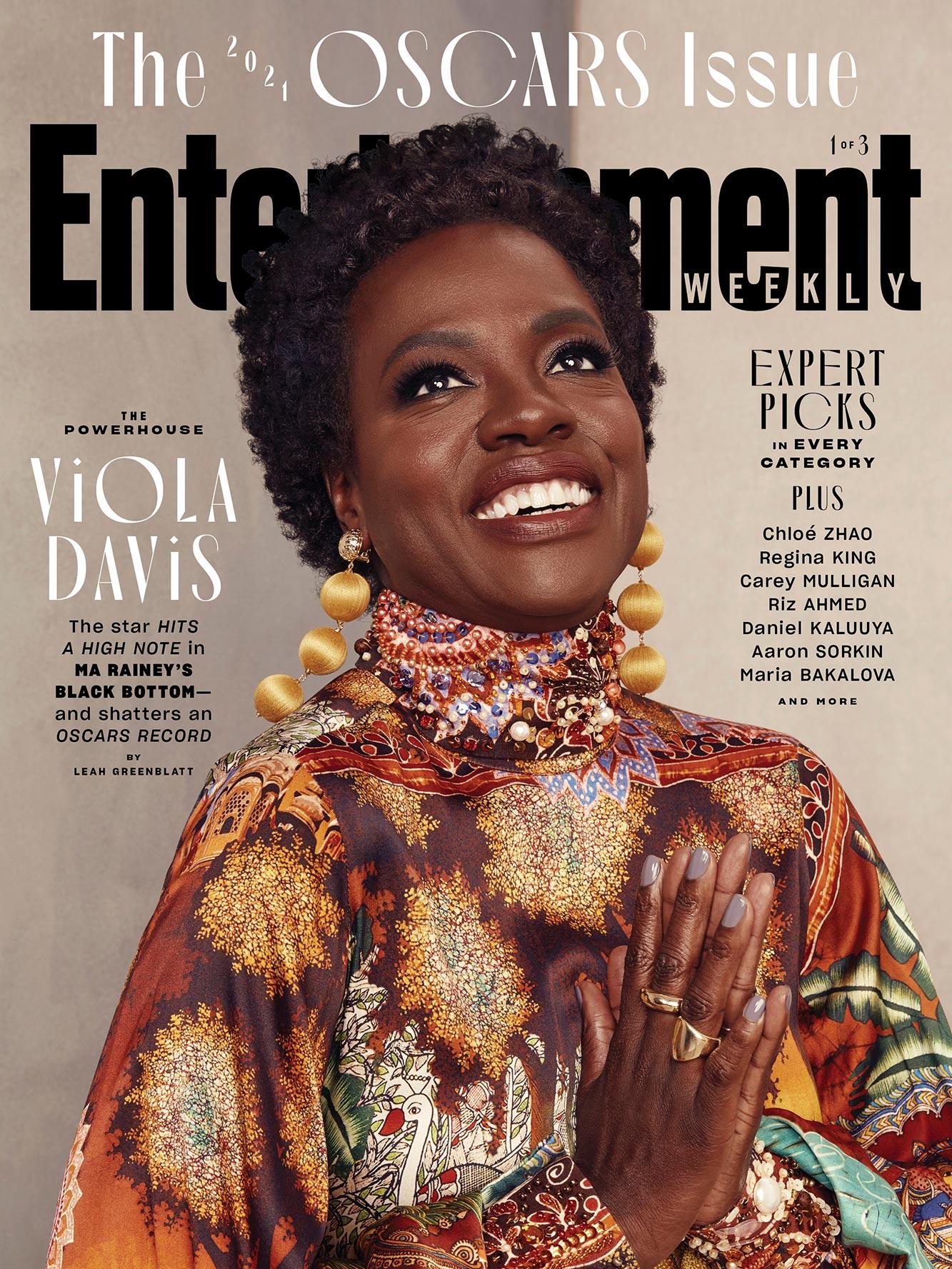 May 2021 Oscar Cover -Viola Davis