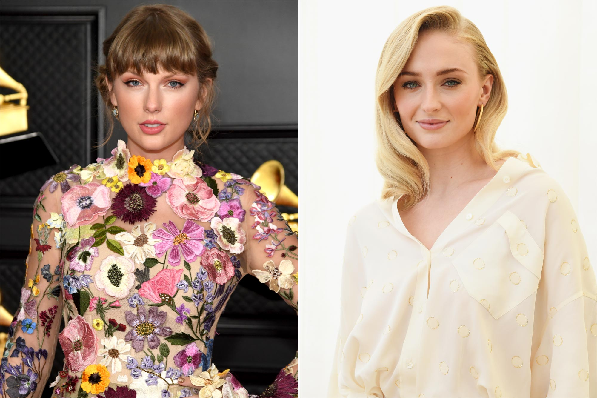 Taylor Swift and Sophie Turner
