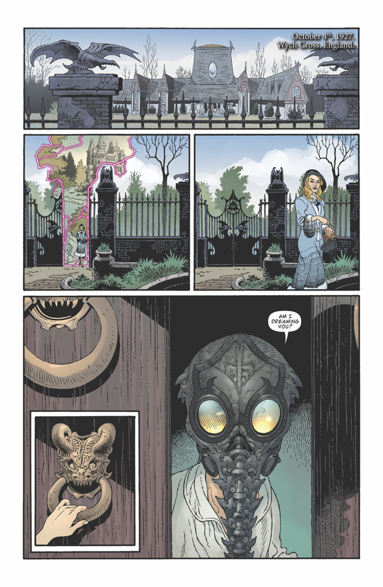 The Sandman/Locke and Key comic crossover