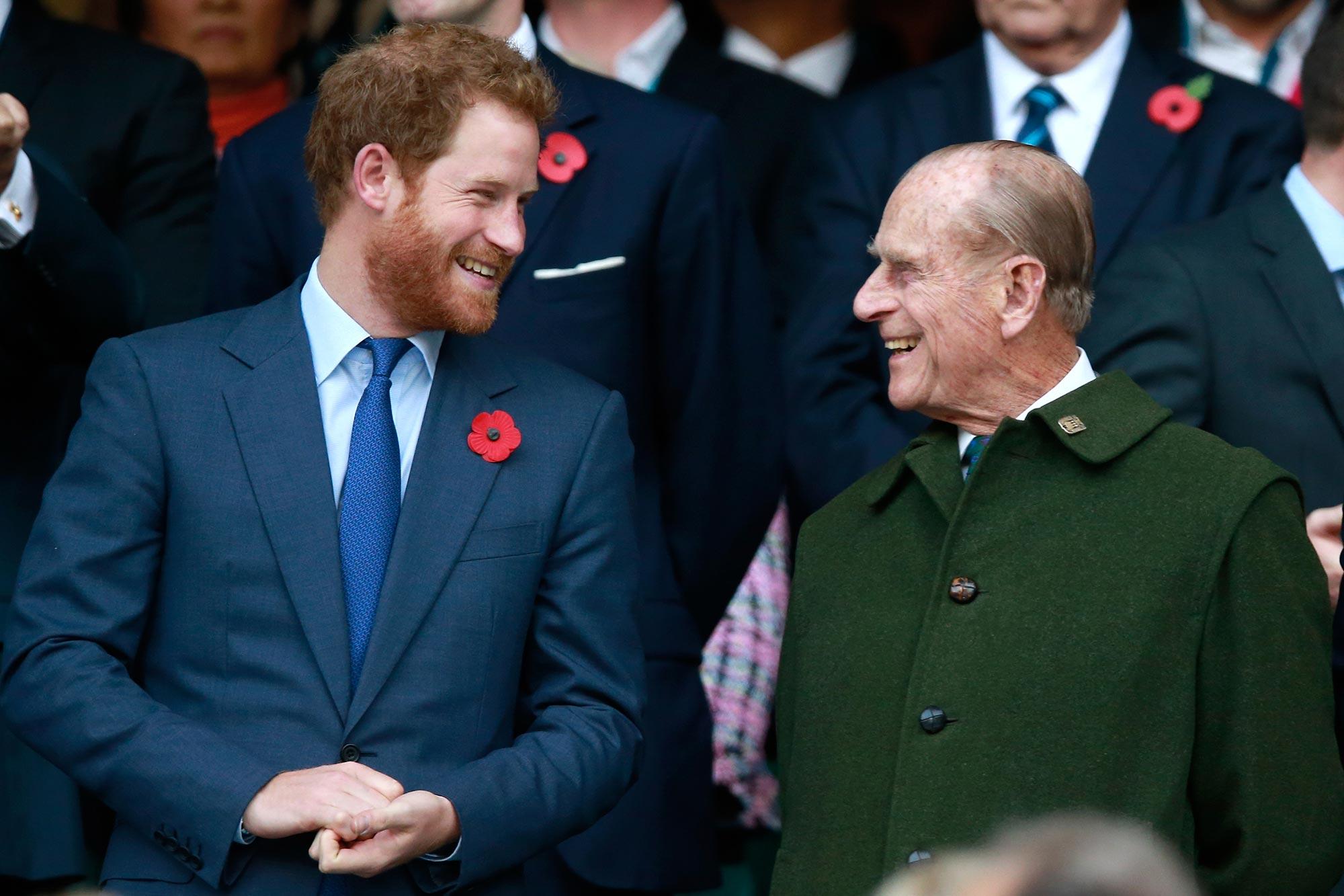 Prince Harry, Prince Phillip