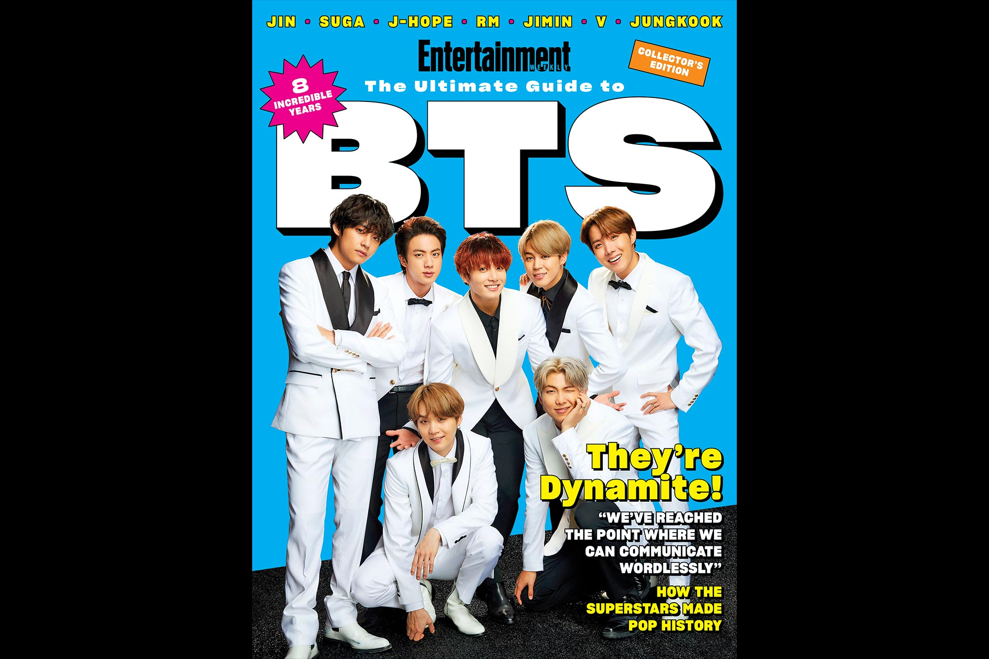 EW Ultimate Guide to BTS cover