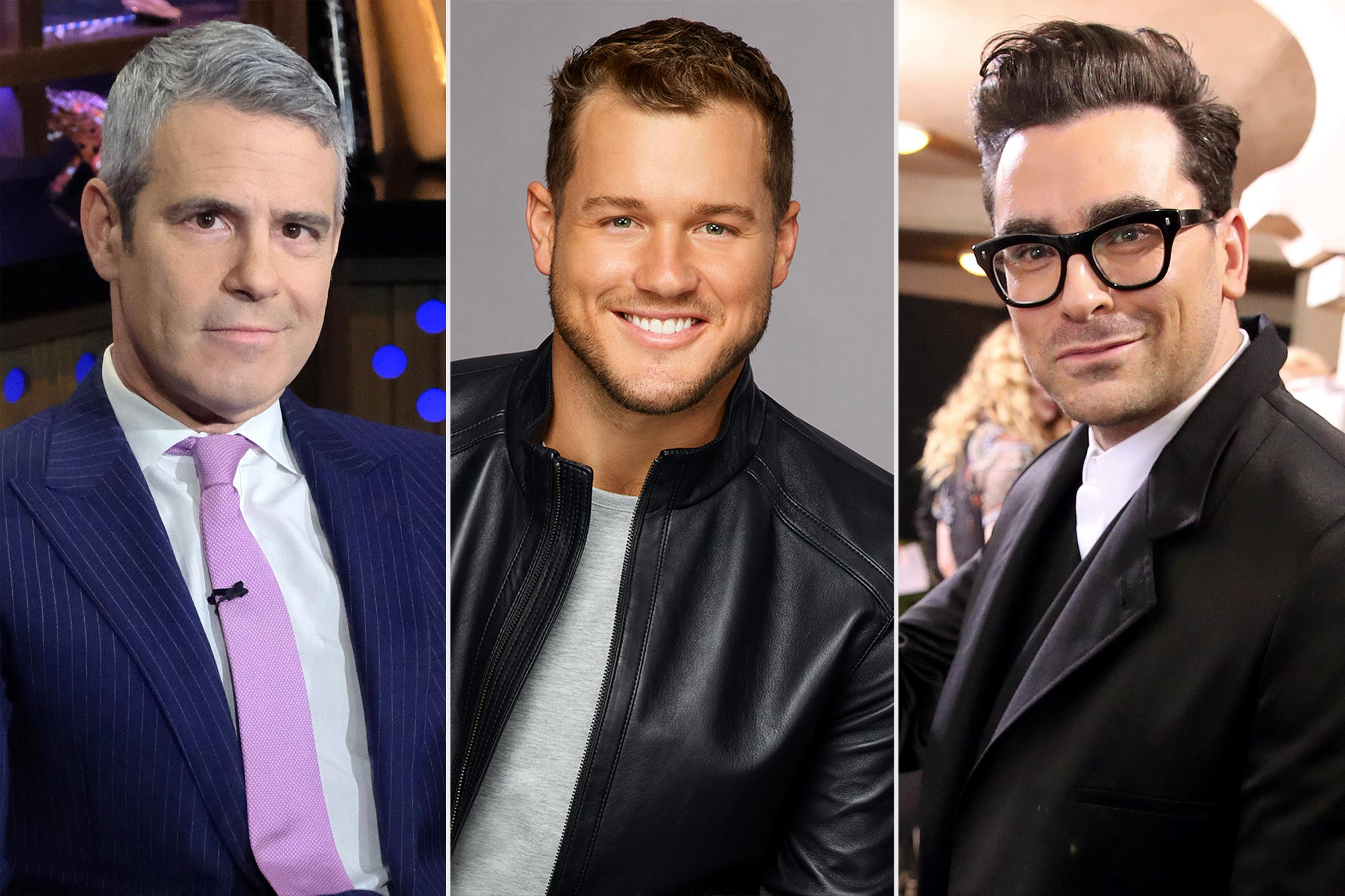 Andy Cohen, Colton Underwood & Dan Levy