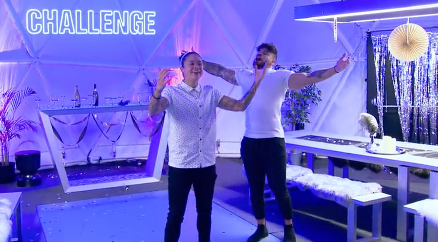 the challenge (screen grabs)