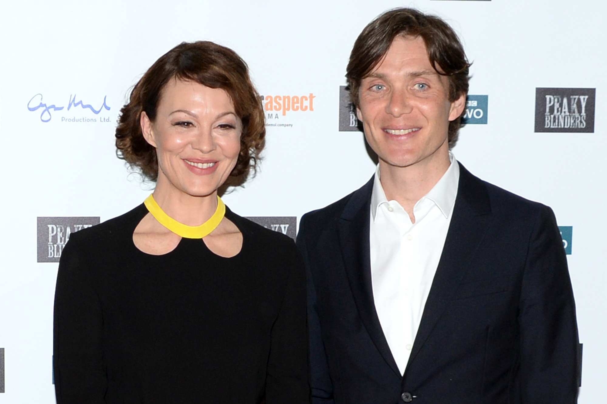 Helen McCrory and Cillian Murphy