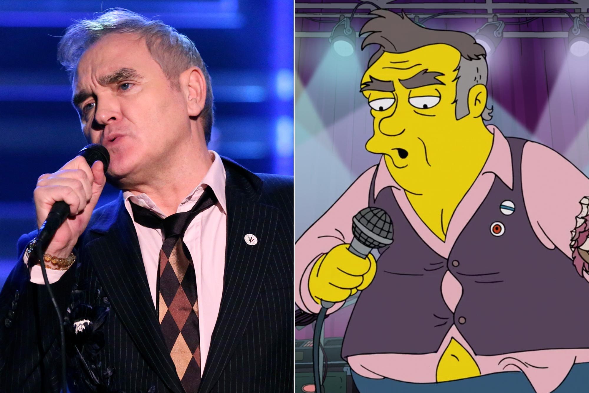 Morrissey; The Simpsons