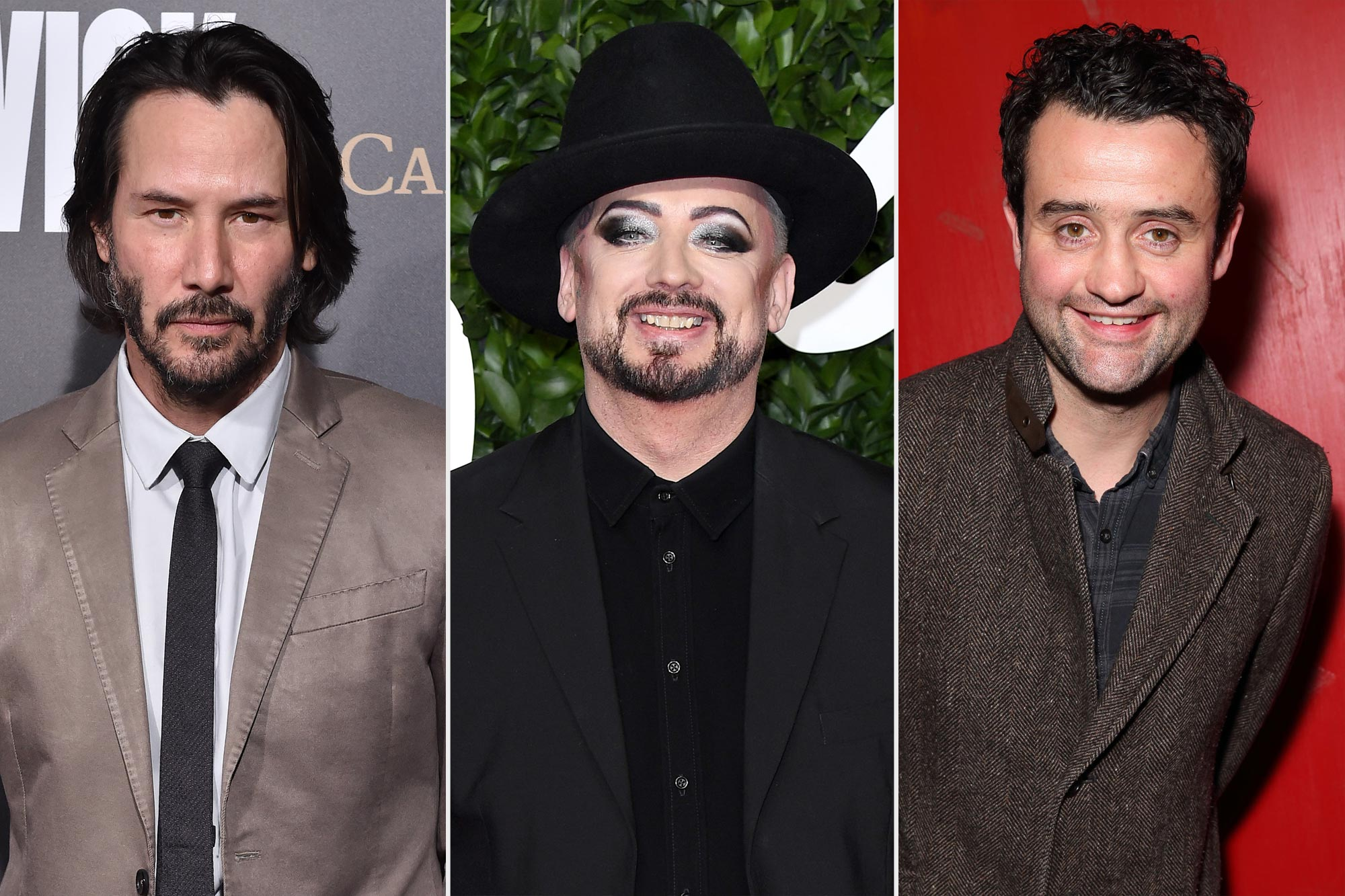 Keanu Reeves, Boy George, Danny Mays