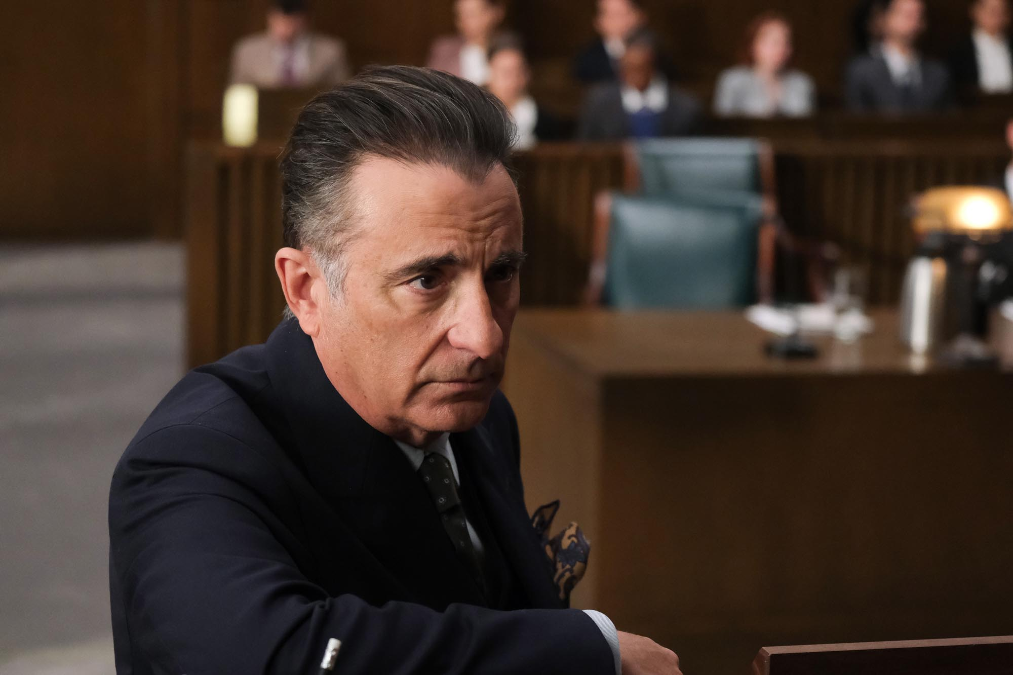 Andy Garcia in 'Rebel'