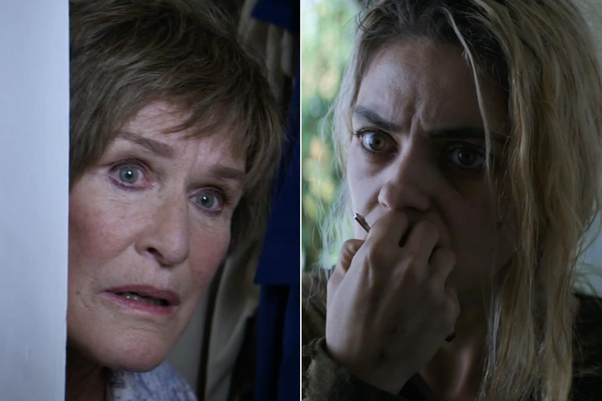 Glenn Close and Mila Kunis battle addiction demons in 'Four Good Days' preview.