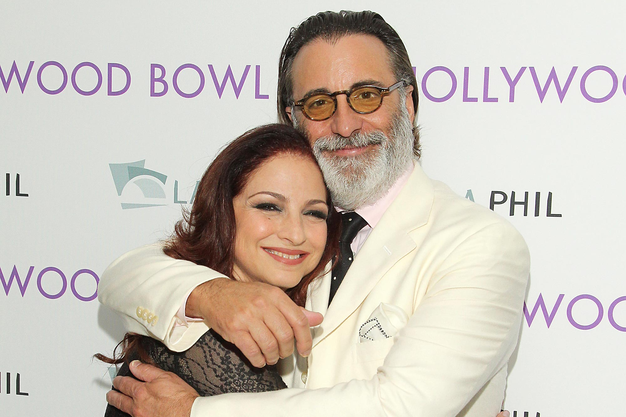 Gloria Estefan and Andy Garcia