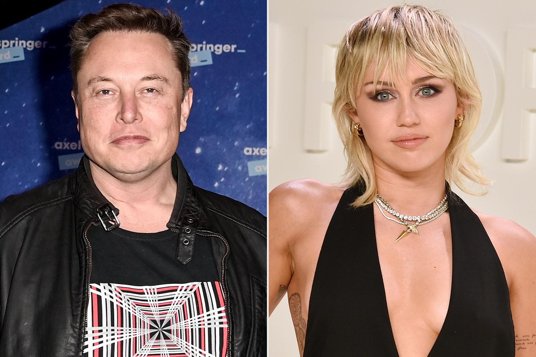 Elon Musk, Miley Cyrus