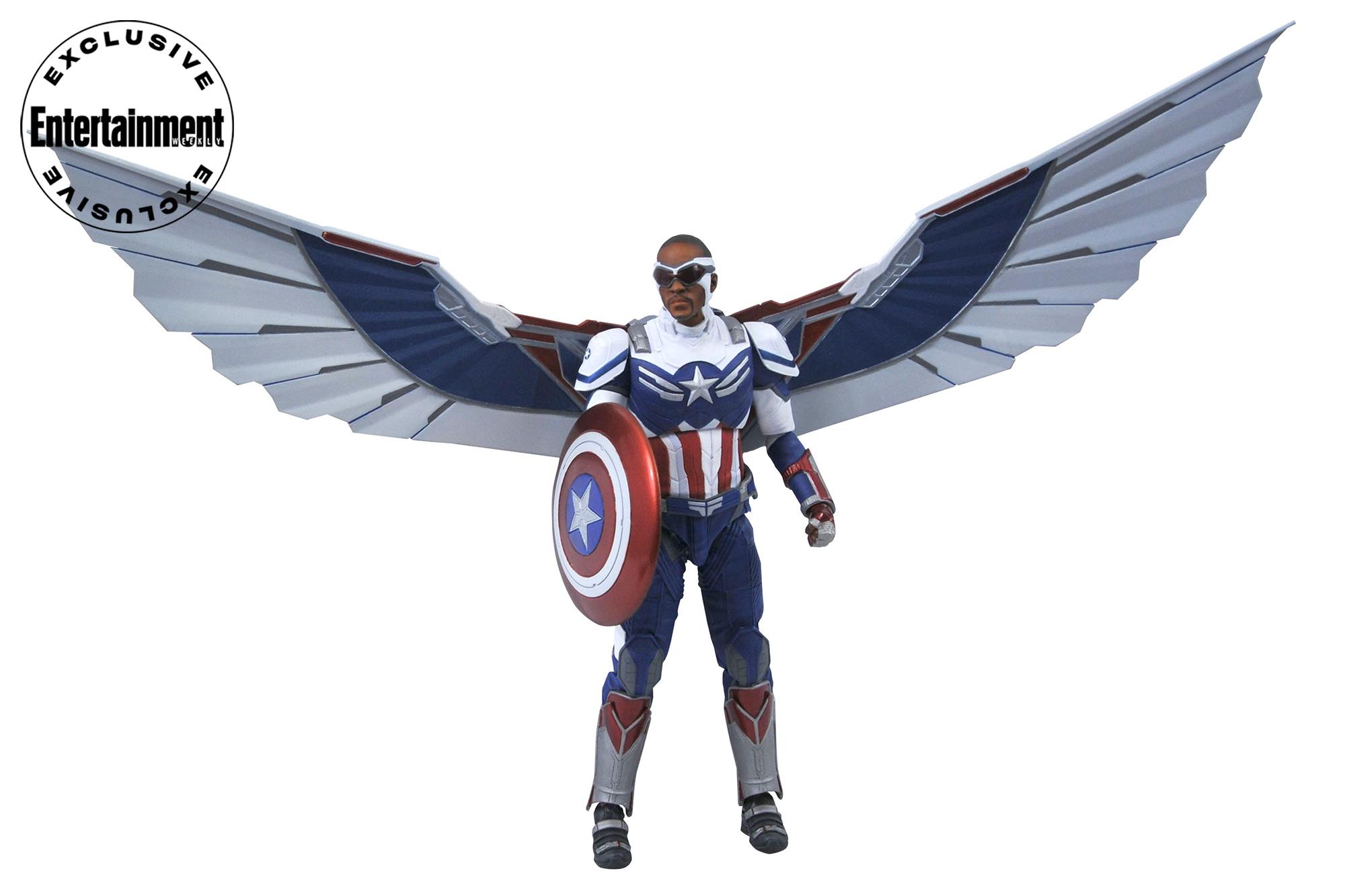 Captain America Collector Edition Action Figure