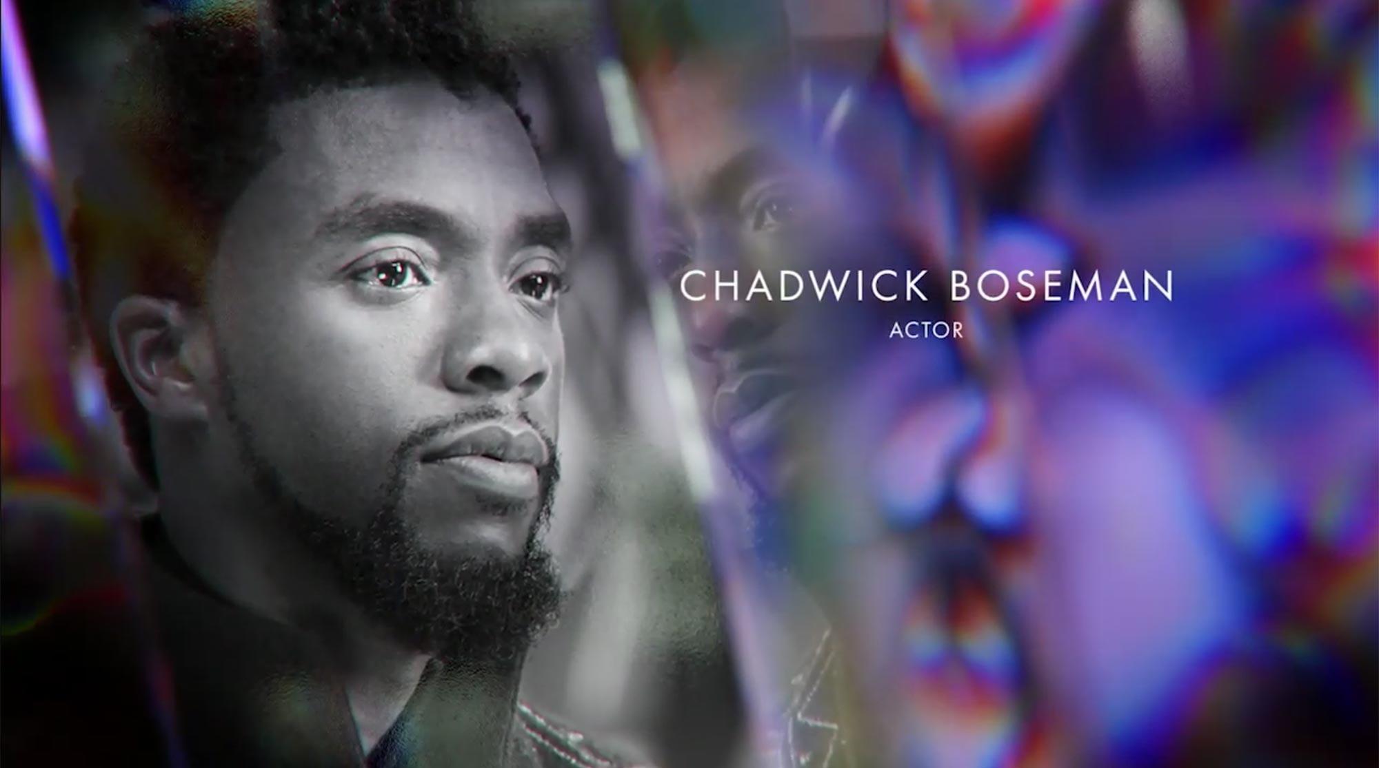 Chadwick Boseman in Oscars In Memoriam