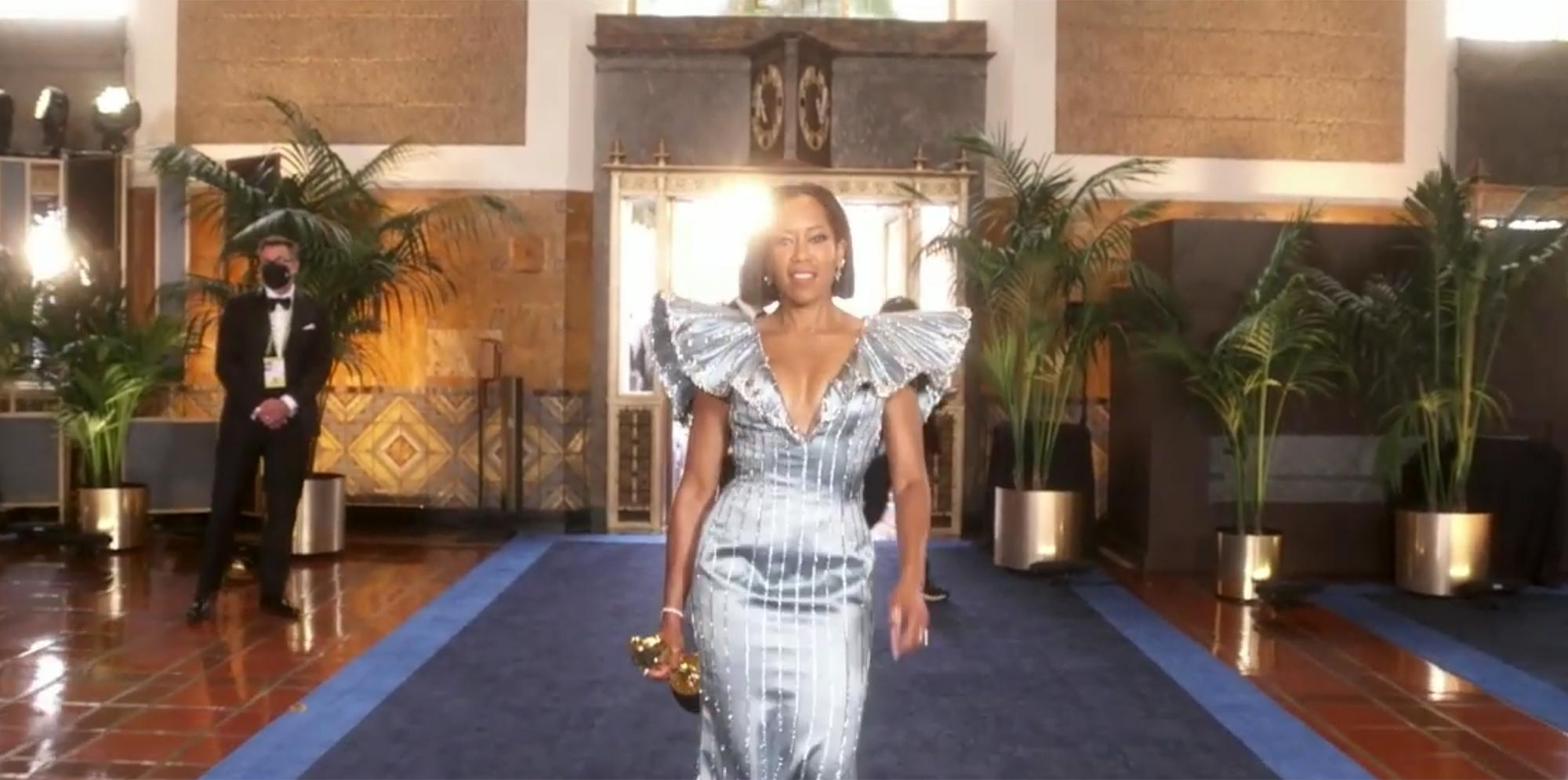 93rd Annual Academy Awards Regina King entrance
