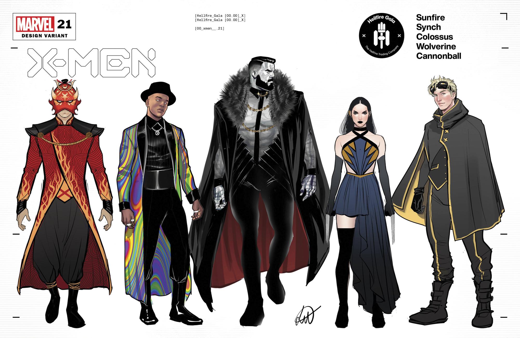 Marvel's X-Men Hellfire Gala