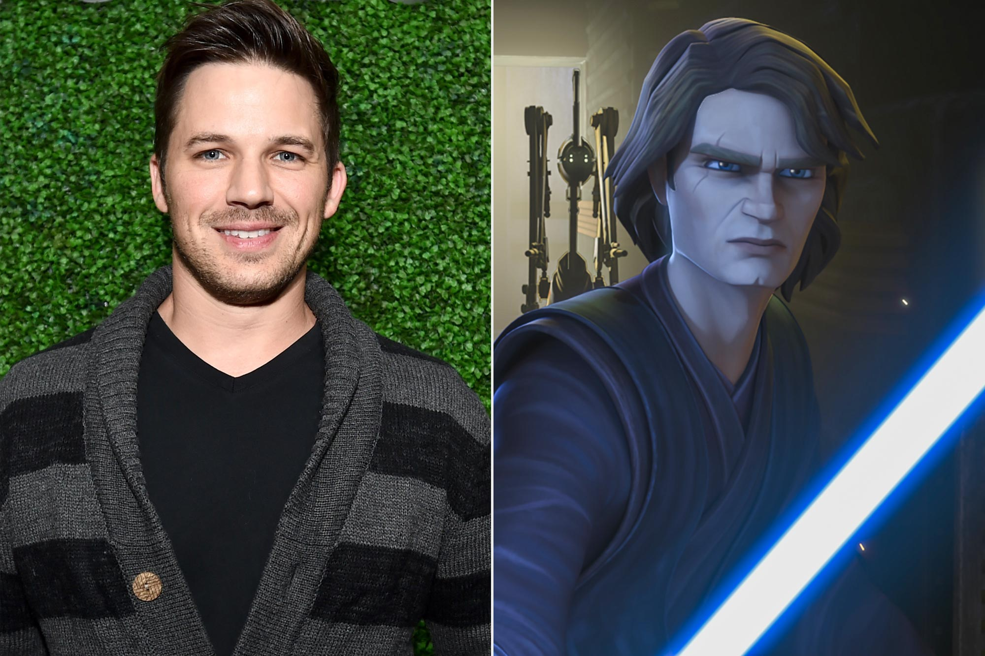 Matt Lanter; Anakin Skywalker in The Clone Wars