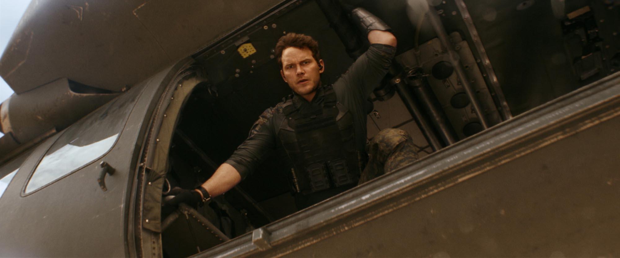 The Tomorrow War with Chris Pratt