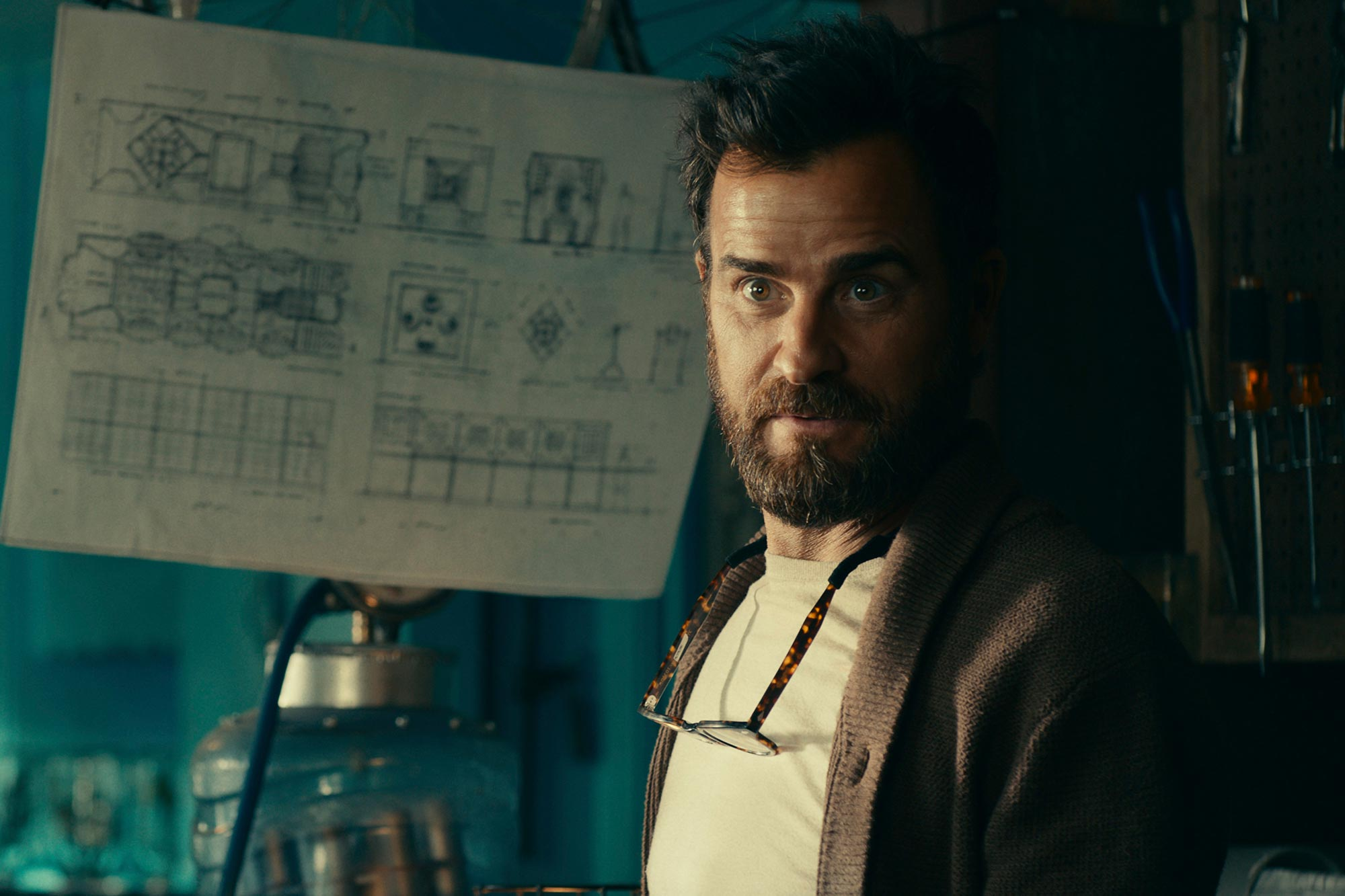 Justin Theroux in The Mosquito Coast
