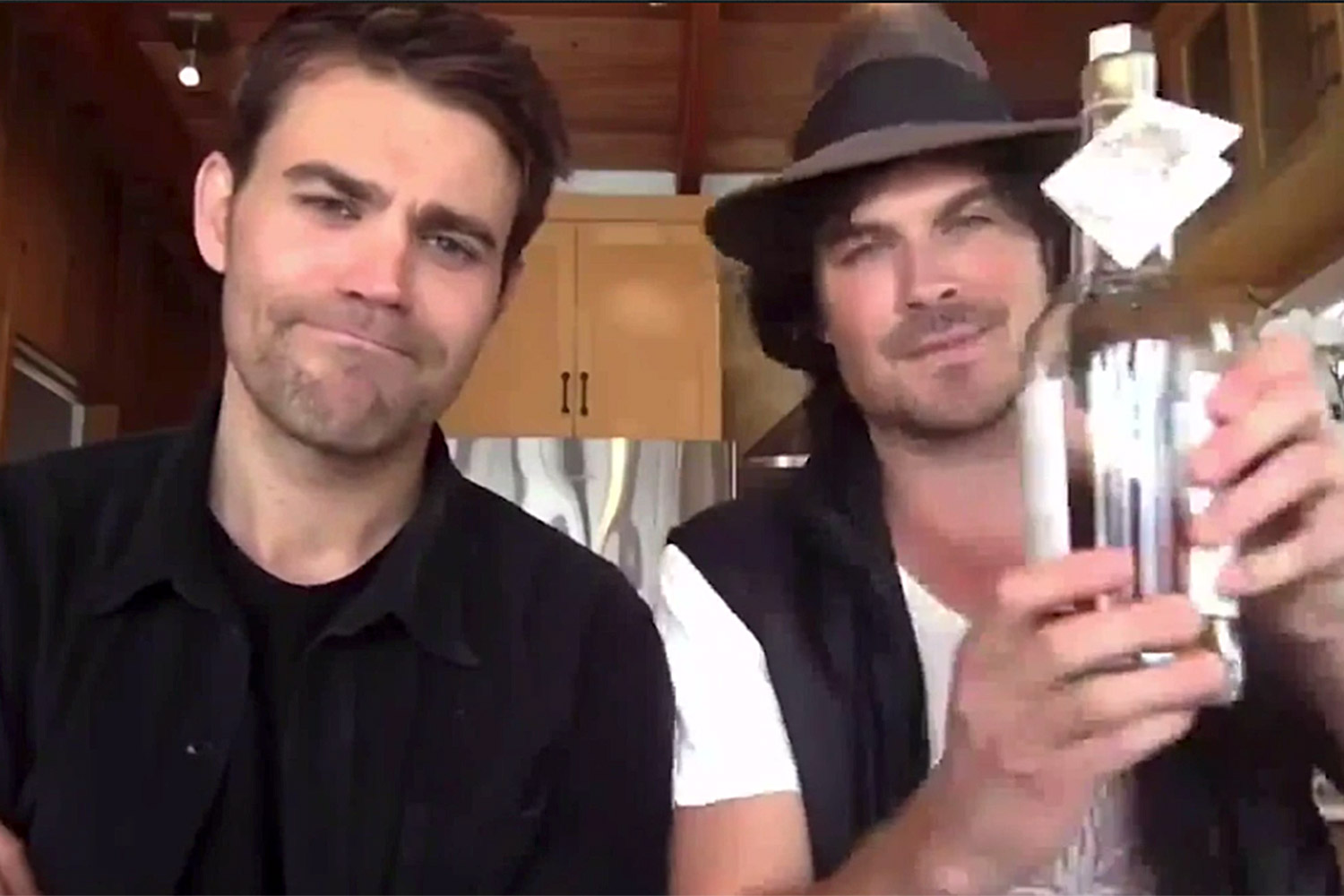 Three Rounds with Paul Wesley and Ian Somerhalder