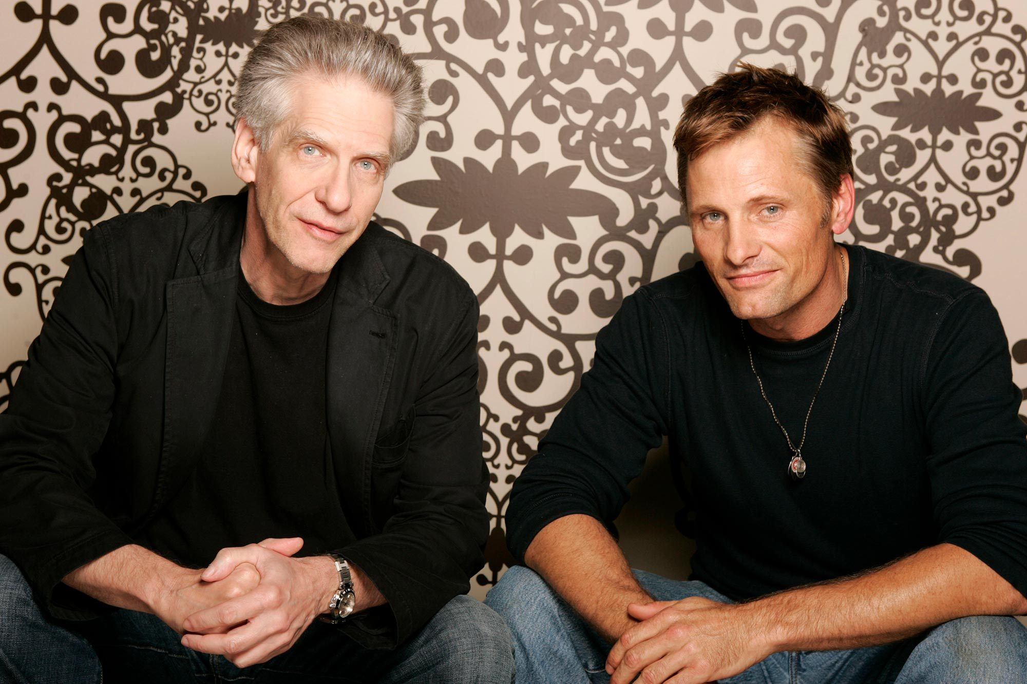 David Cronenberg and Viggo Mortensen