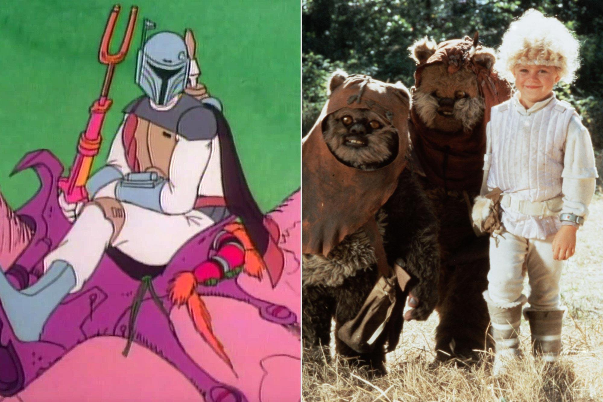 Star Wars Holiday Special; The Ewok Adventure / Caravan Of Courage
