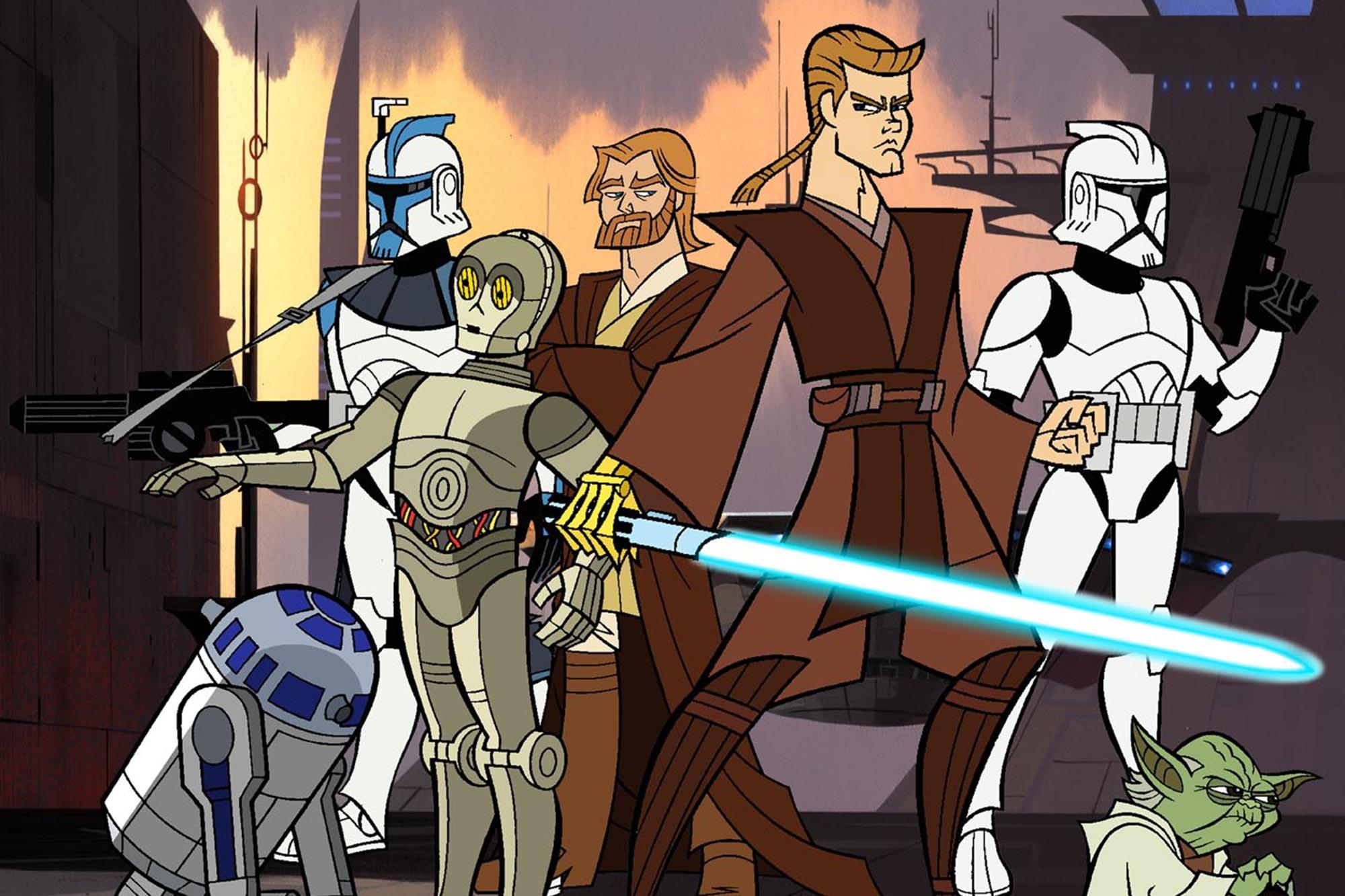 Star Wars Ranking - The Clone Wars