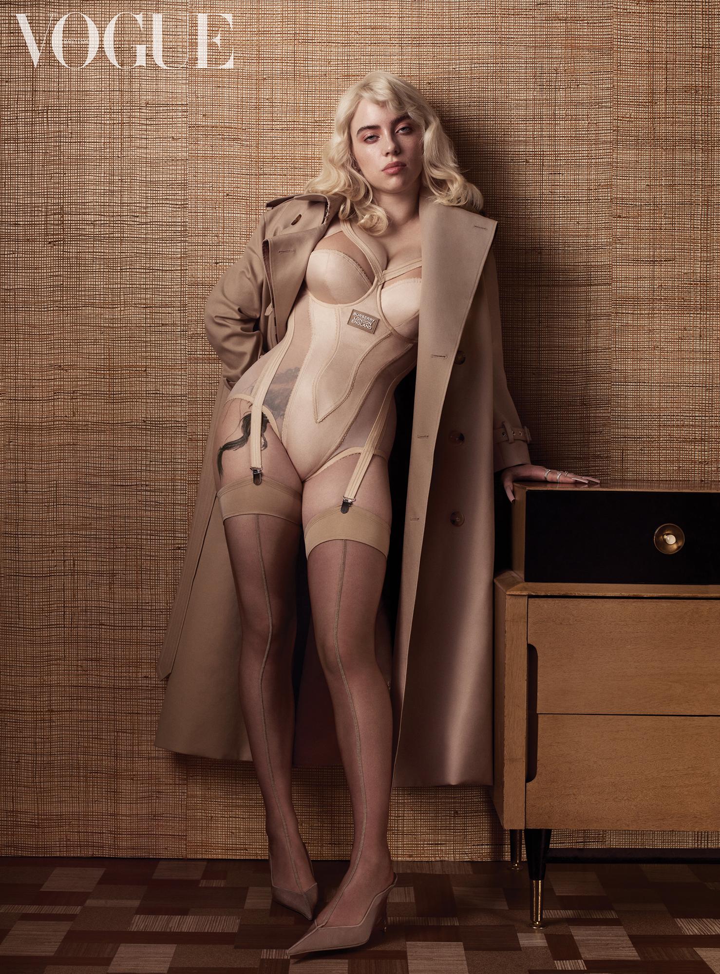 NO REUSE Billie Eilish for June British Vogue NO REUSE
