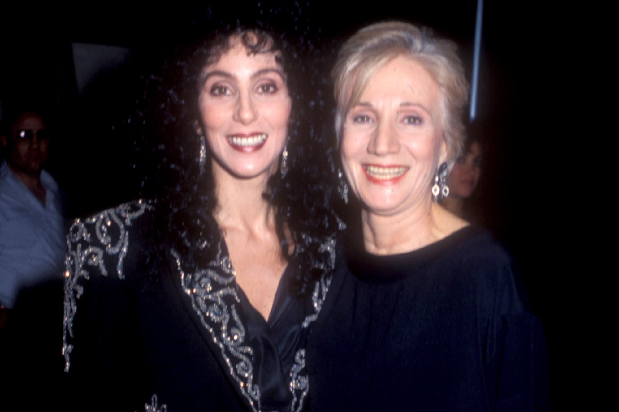 Cher, Olympia Dukakis
