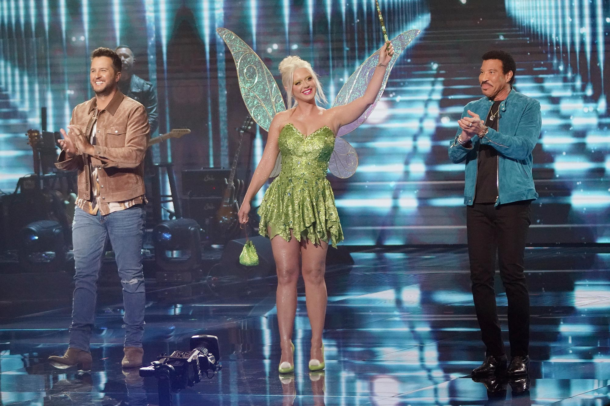 American Idol LUKE BRYAN, KATY PERRY, LIONEL RICHIE