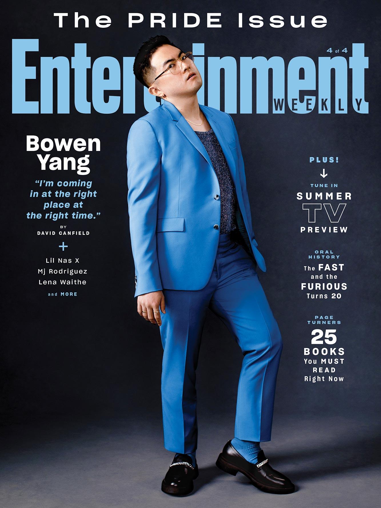 EW Pride 2021 cover - Bowen Yang