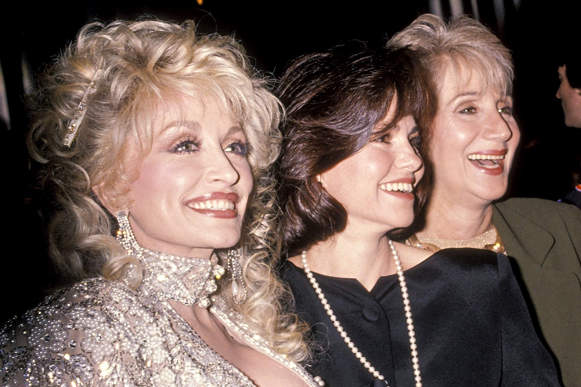 Dolly Parton, actress Sally Field, actress Olympia Dukakis