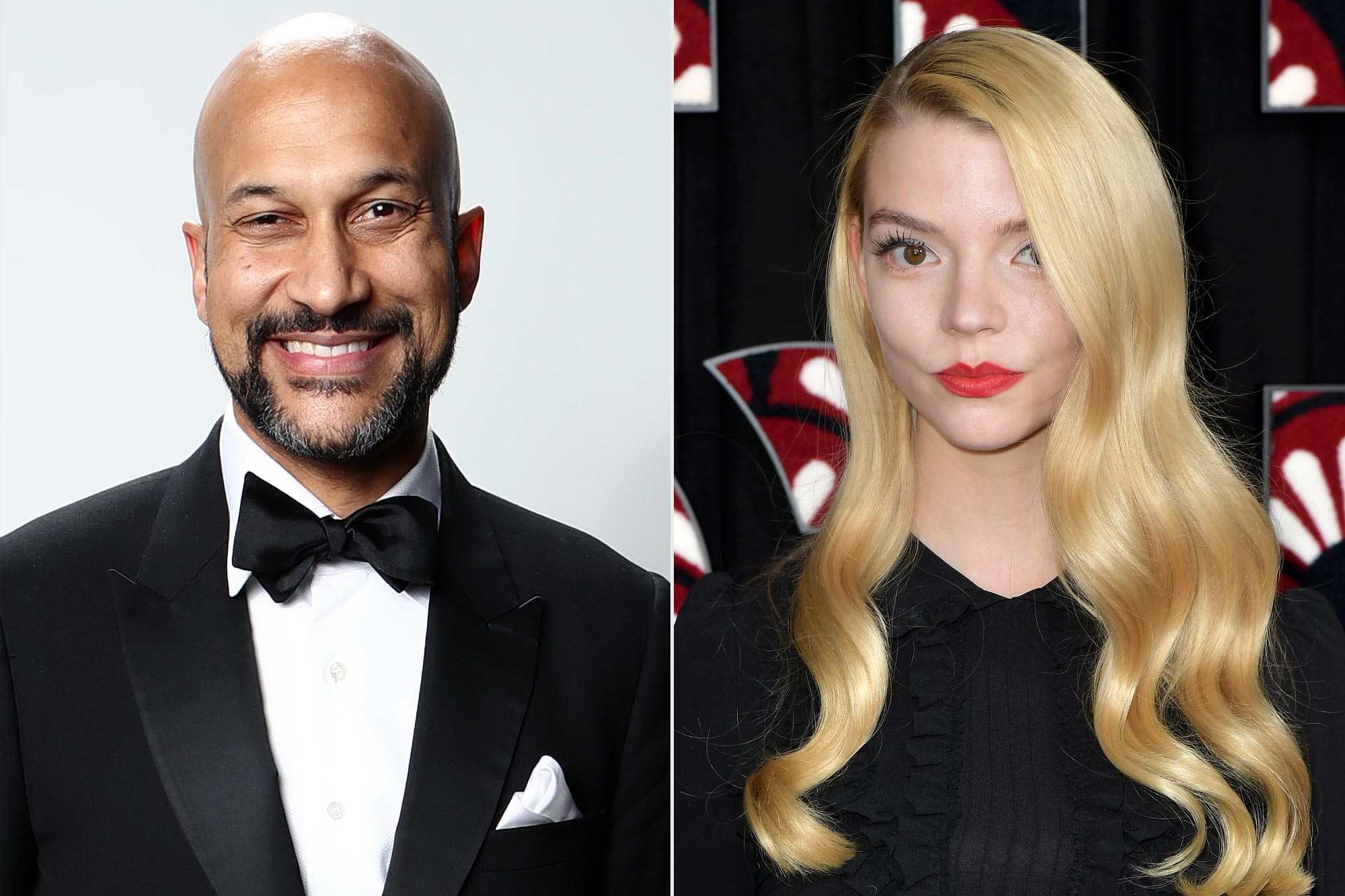 Keegan-Michael Key and Anya Taylor-Joy