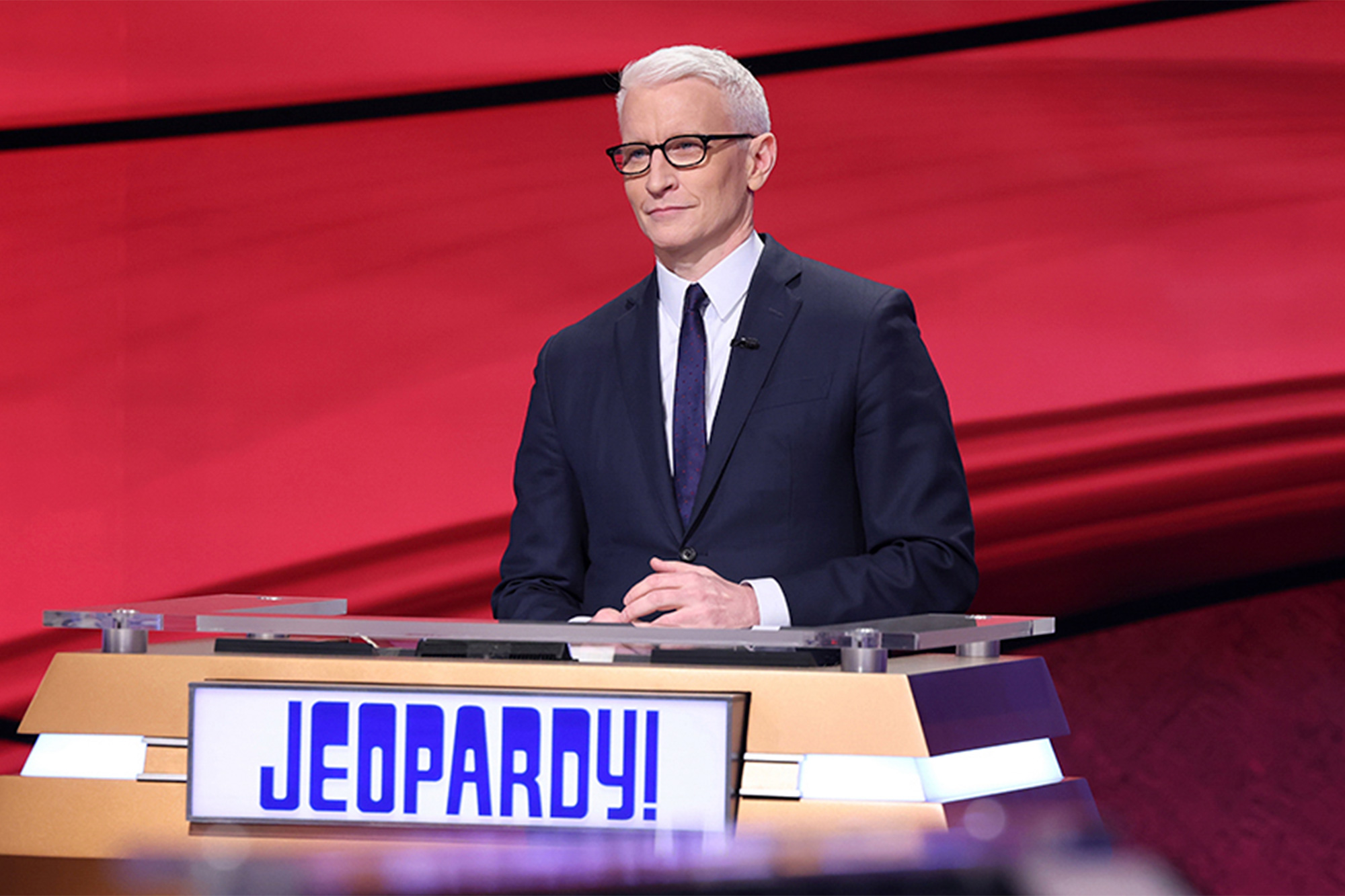 Anderson Cooper on Jeopardy!