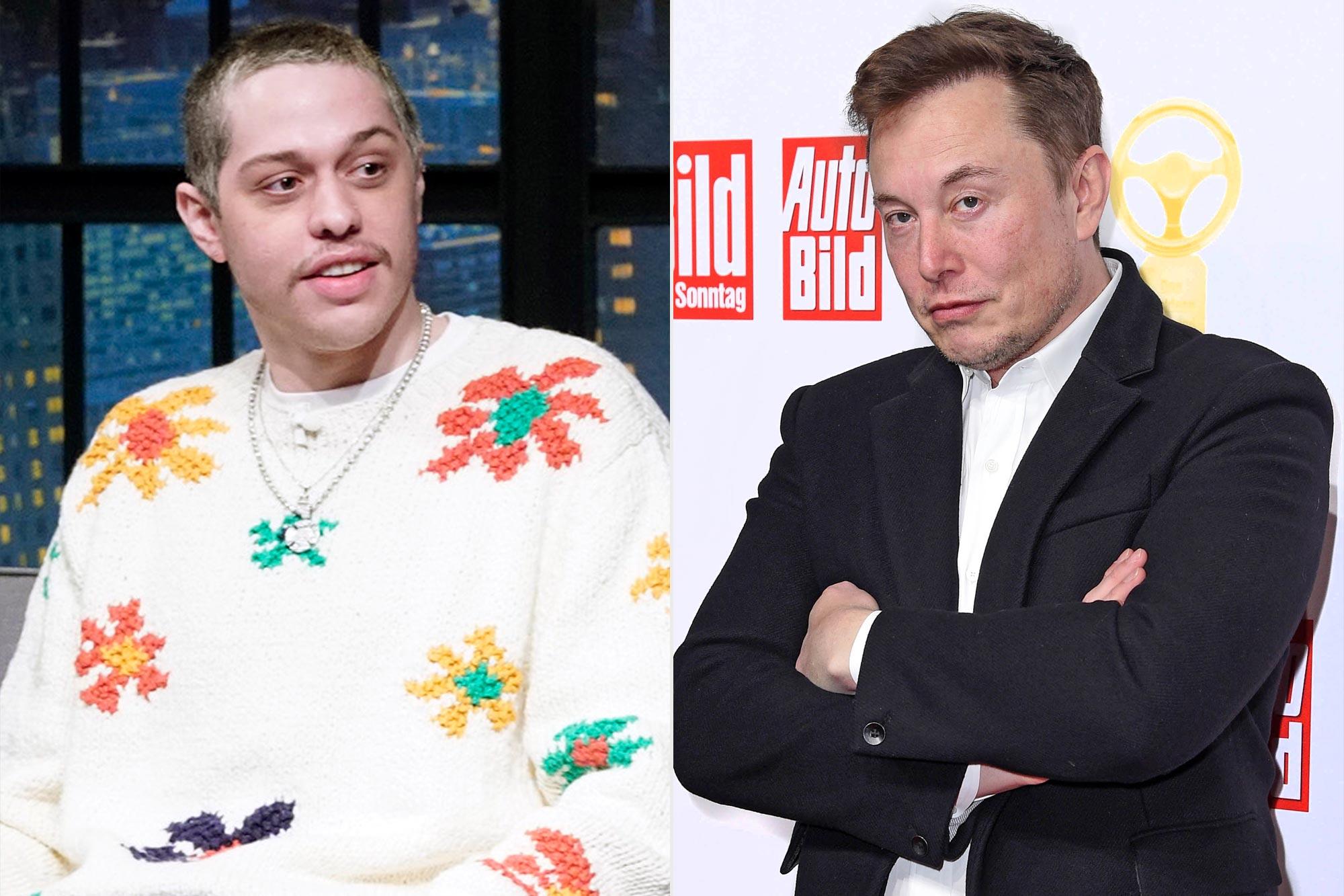 Pete Davidson; Elon Musk