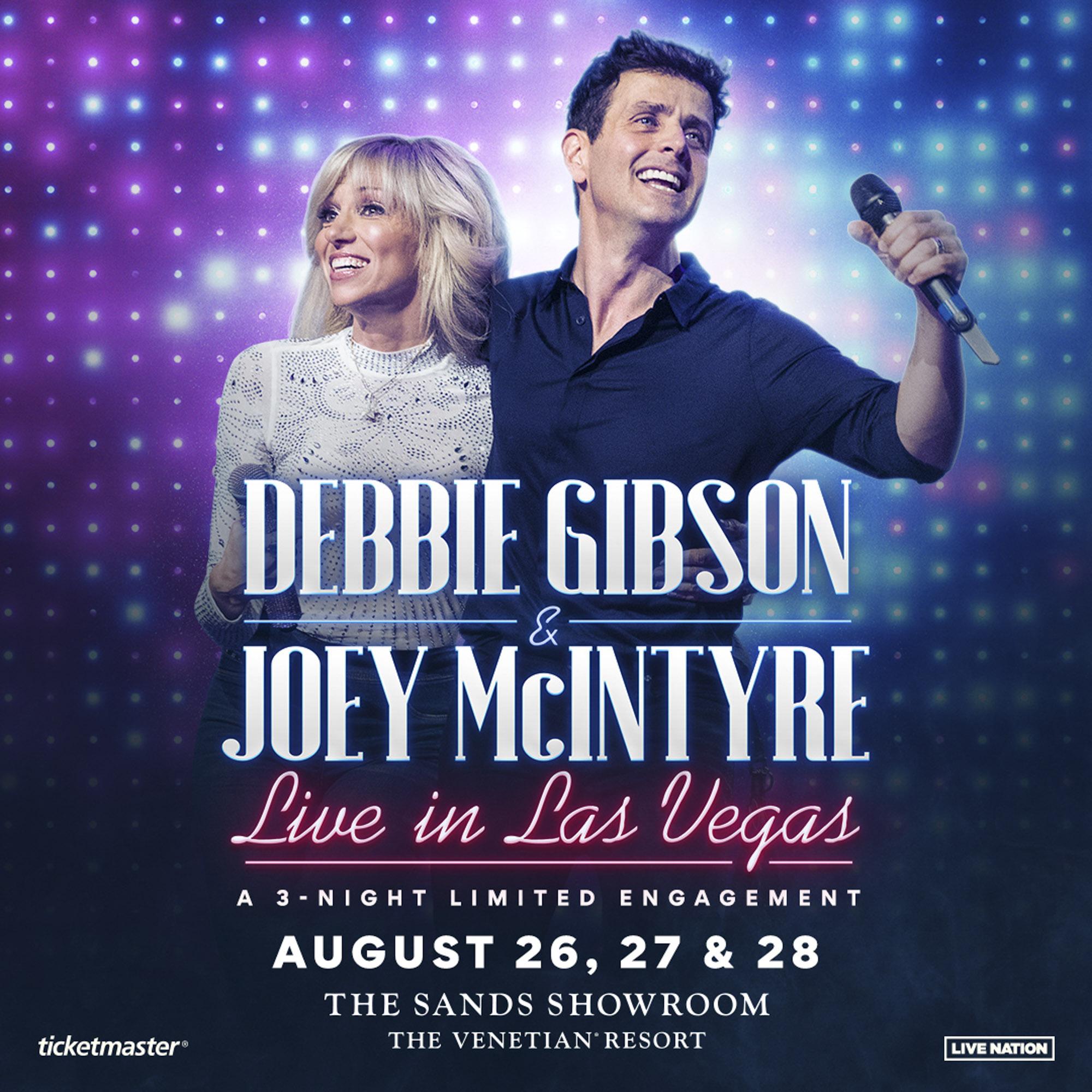 Debbie Gibson and Joey McIntyre