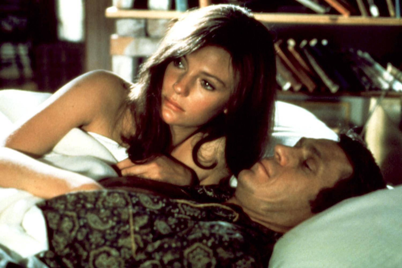 Jacqueline Bisset and Steve McQueen in 'Bullitt'