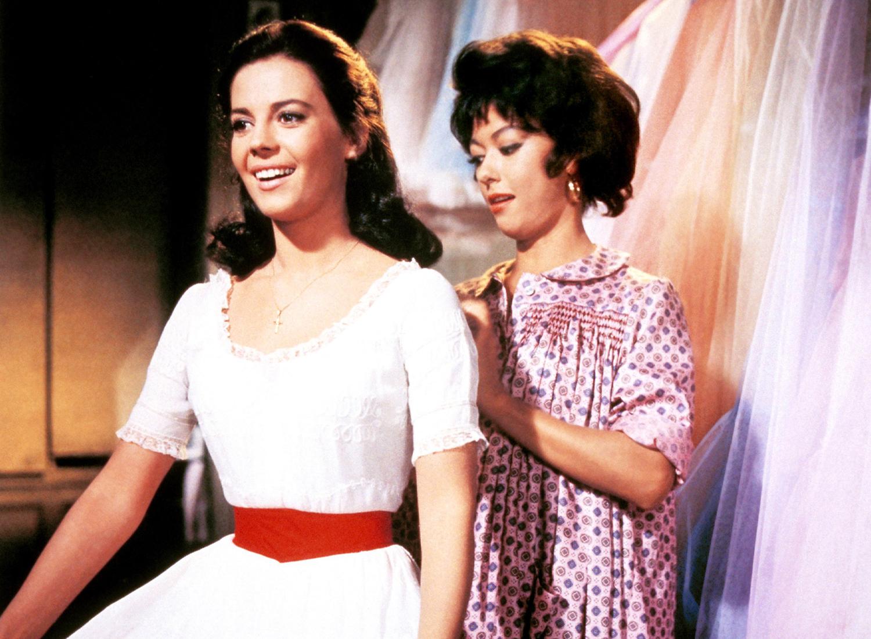 WEST SIDE STORY, Natalie Wood, Rita Moreno
