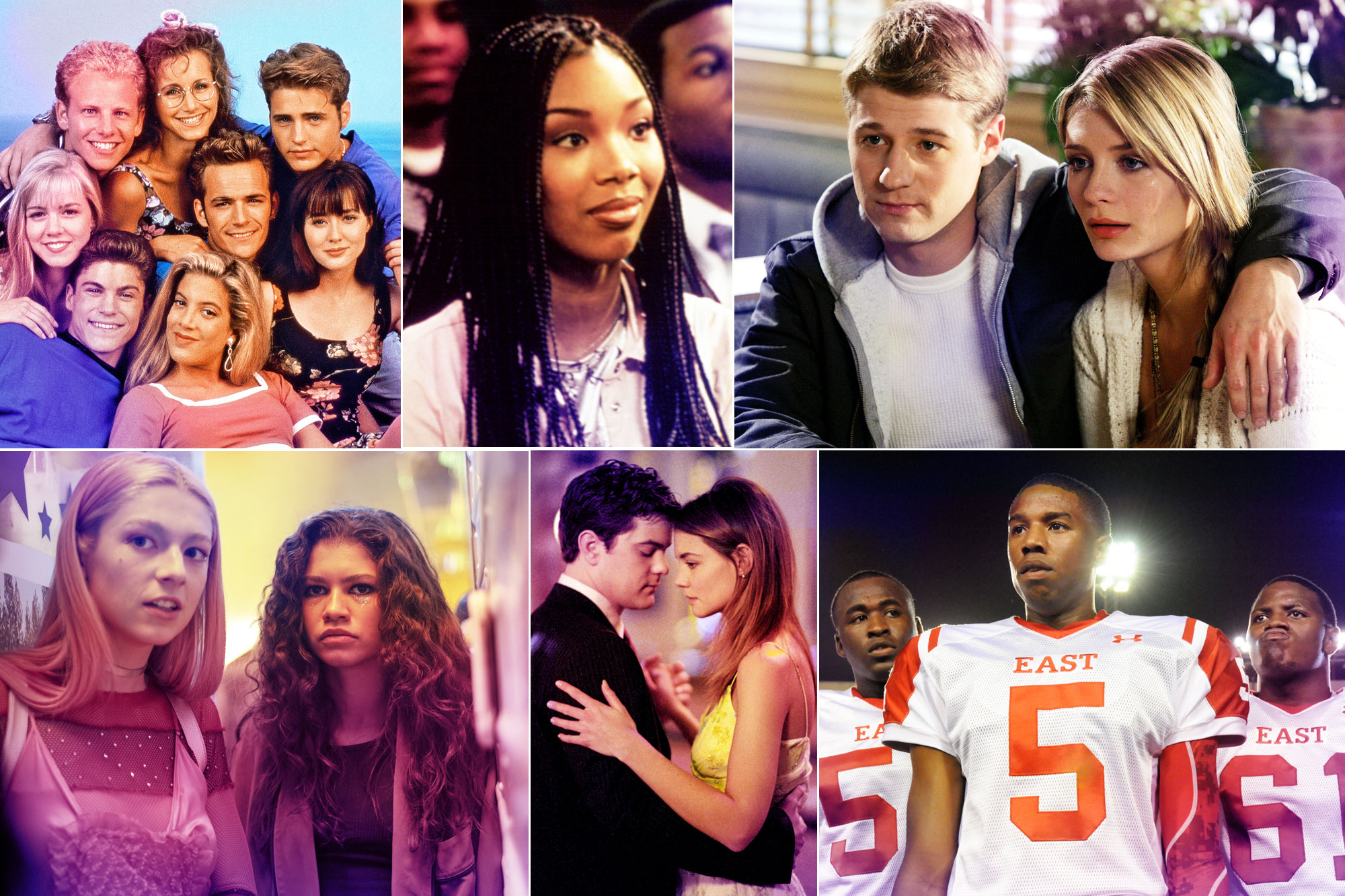 Appeal of Teen TV - Beverly Hills 90210; Moesha; The OC; Euphoria; Dawson's Creek; Friday Night Lights