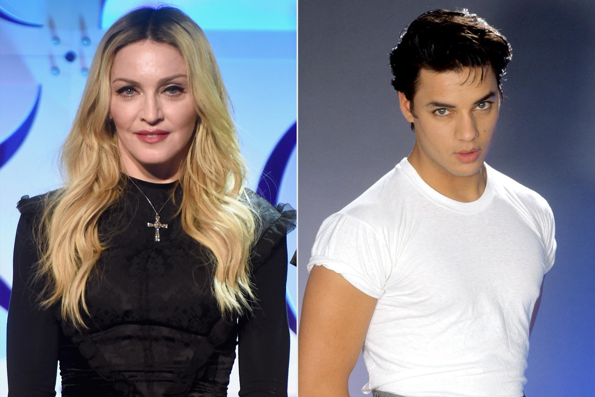 Madonna; Nick Kamen