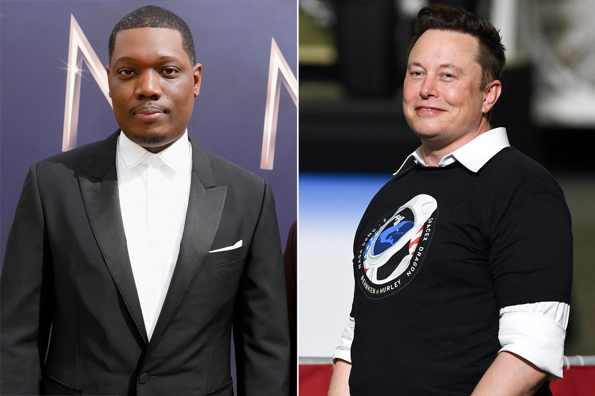 Michael Che, Elon Musk
