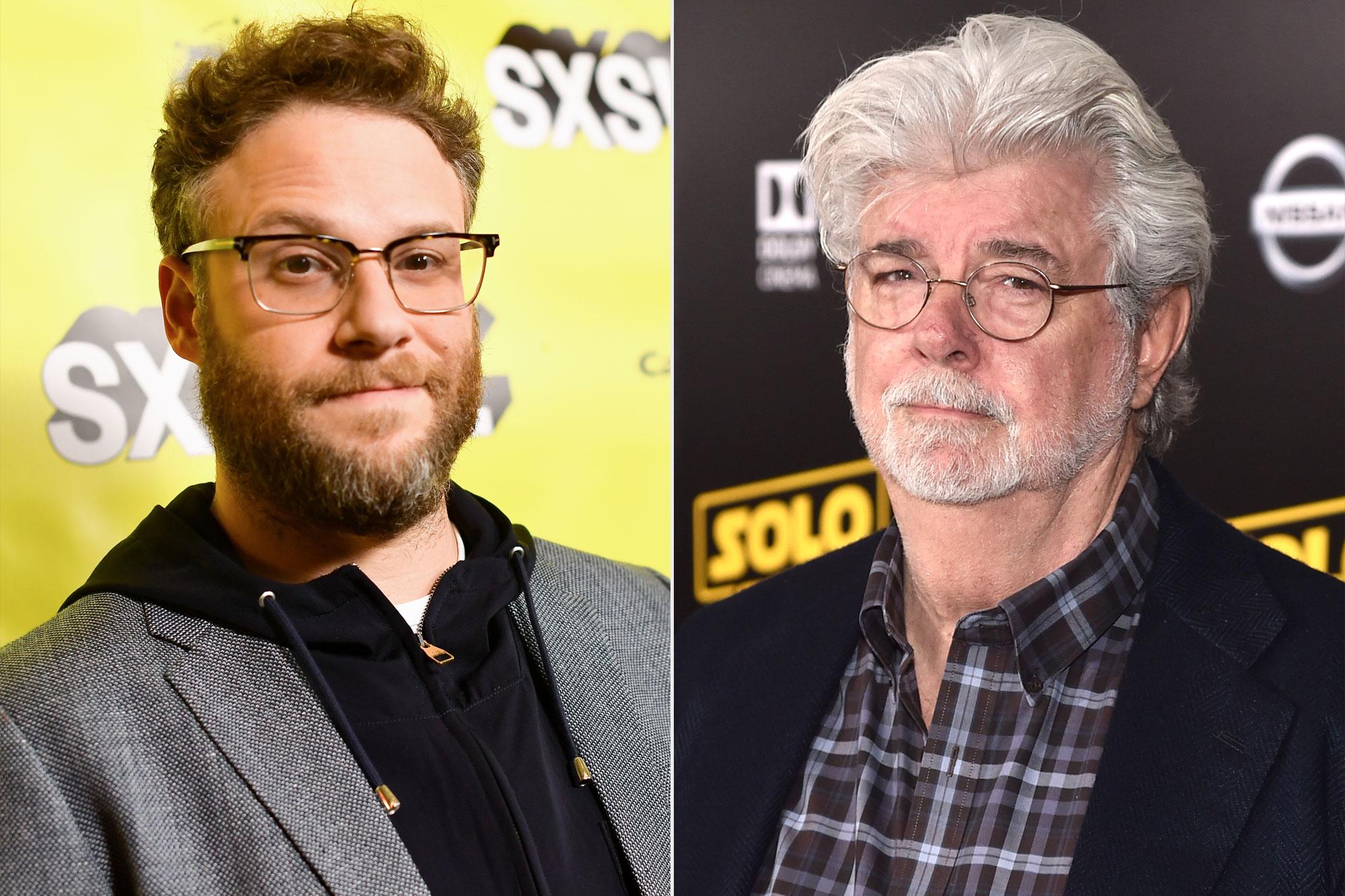 Seth Rogen; George Lucas