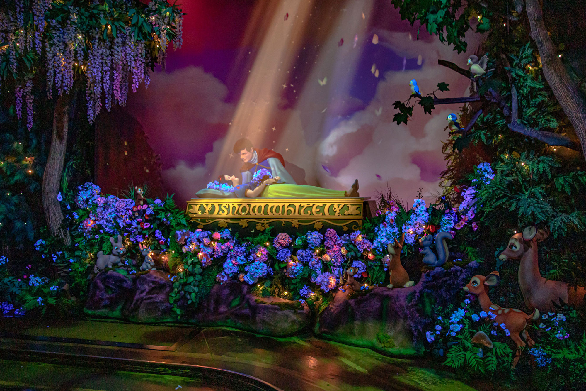 Snow White's Enchanted Wish at Disneyland