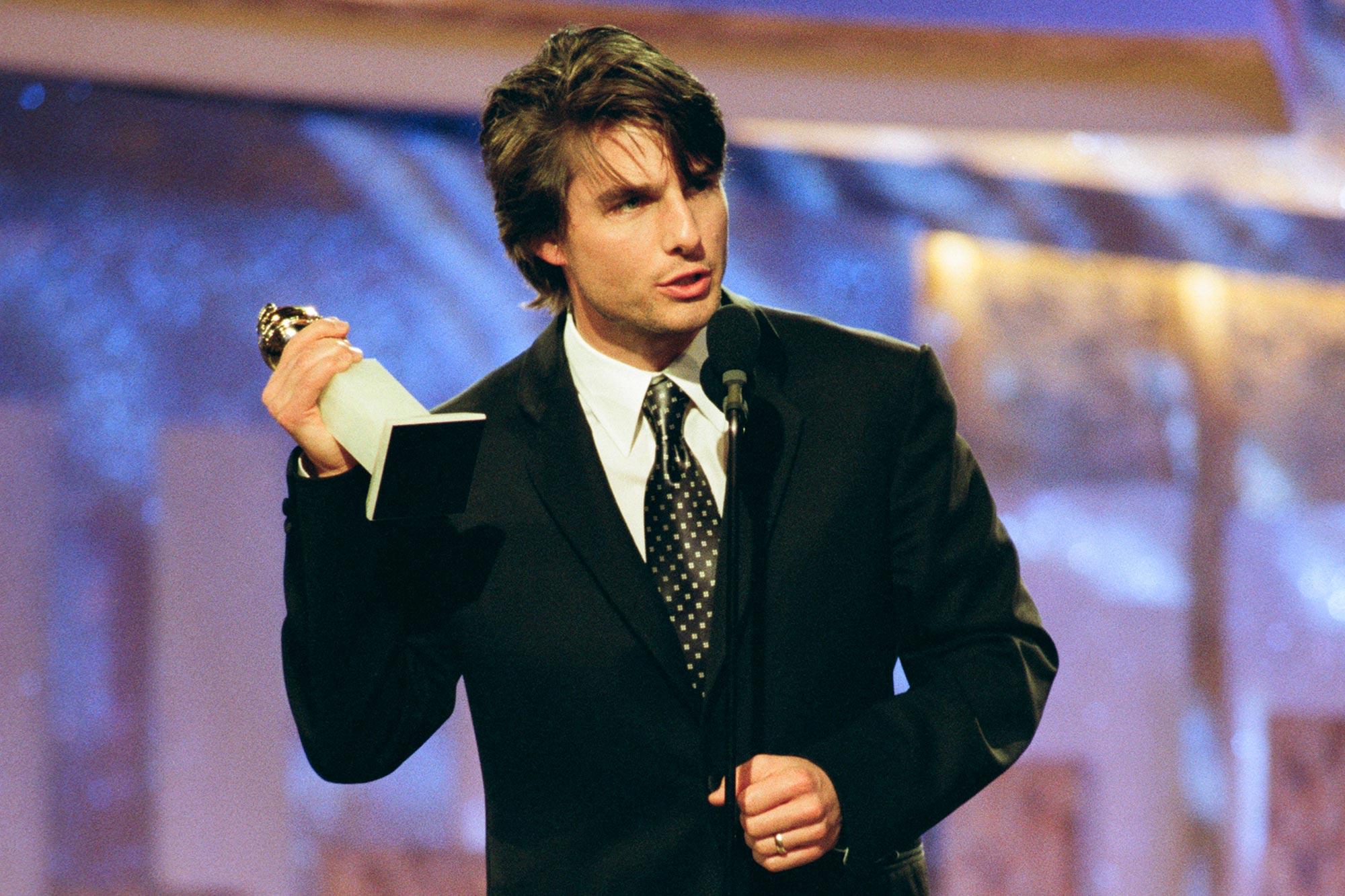 Tom Cruise Golden Globe Awards